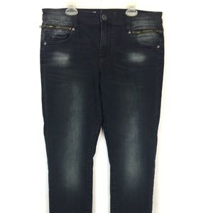Kut From the Kloth Reece Ankle Skinny Jeans Sz 12